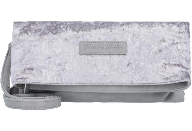 247135282c557 Fritzi aus Preußen Ronja Clutch Tasche 29 cm grey