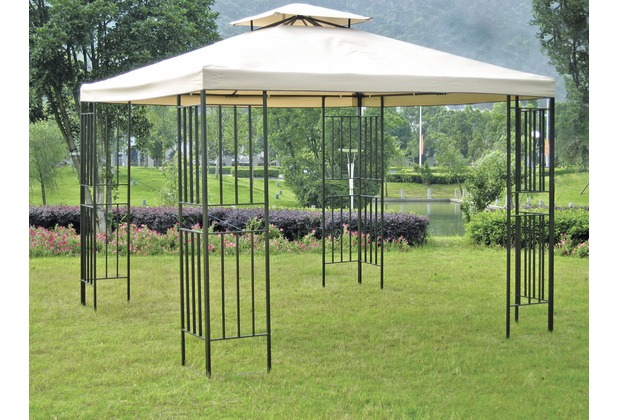 garden pleasure pavillon amazonas stahlgestell. Black Bedroom Furniture Sets. Home Design Ideas
