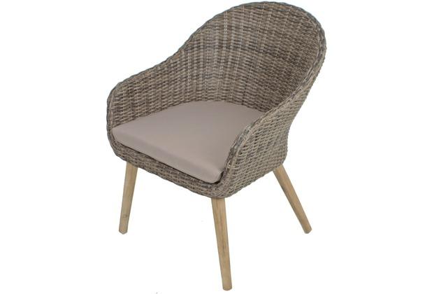Garden Pleasure Sofa & Stuhl Set PUEBLO, 3-teilig | Hertie.de