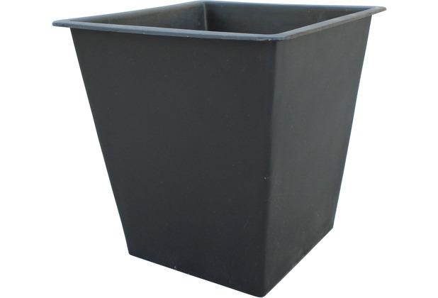 Gartenfreude Pflanzkübel Einsatz 25 x 25 x 25 cm, schwarz | Hertie.de