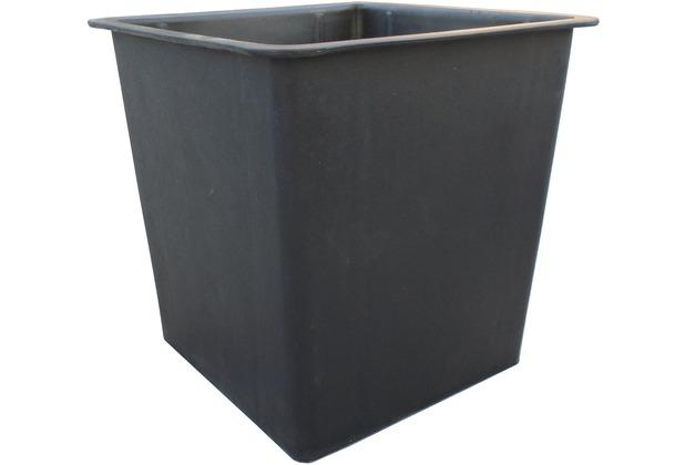 Gartenfreude Pflanzkübel Einsatz 26 x 26 x 24 cm, schwarz | Hertie.de