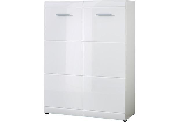 hertie schuhschrank gw adana wei. Black Bedroom Furniture Sets. Home Design Ideas