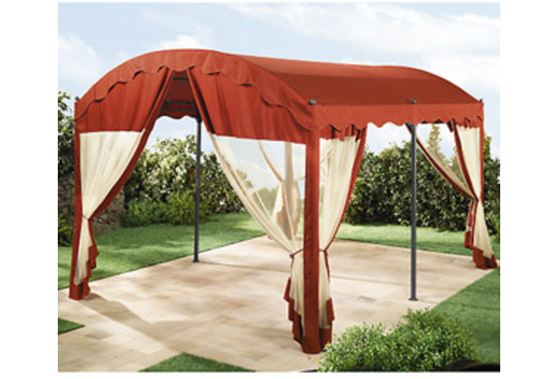 grasekamp 4 seitenteile zu bogenpergola 3x4m terrakotta terracotta. Black Bedroom Furniture Sets. Home Design Ideas