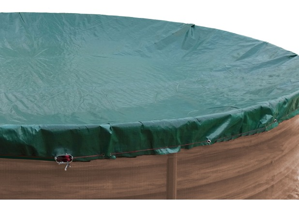 Grasekamp Abdeckplane Fur Pool Rund 350 360cm Planenmass 420cm Sommer