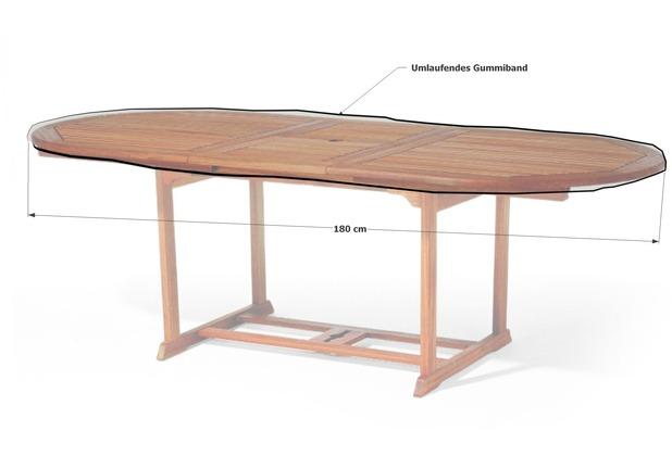 Grasekamp Gartentisch Tischplatten Abdeckung Schutzhulle Plane