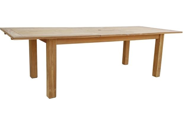 Fantastisch Grasekamp Teak Tisch 200/260x100 Cm Ausziehbar Esstisch Gartenmöbel  Gartentisch Holztisch Natur