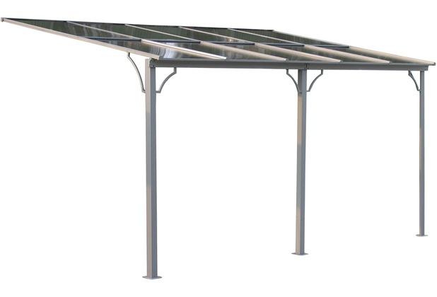 Grasekamp Terrassendach Hardtop 450x300cm Verona Doppelstegplatten