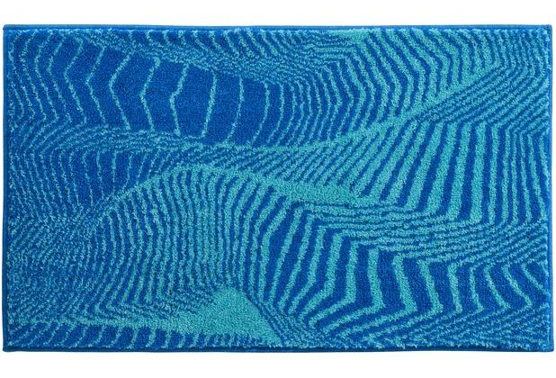 Badematten Türkis grund badteppich karim rashid concept 13 244 blau türkis hertie de