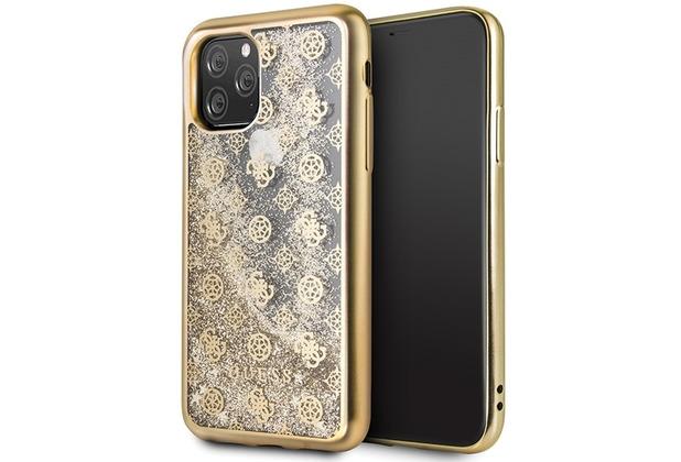 Guess Hard Cover Schutzhülle für Apple iPhone 11 Gold
