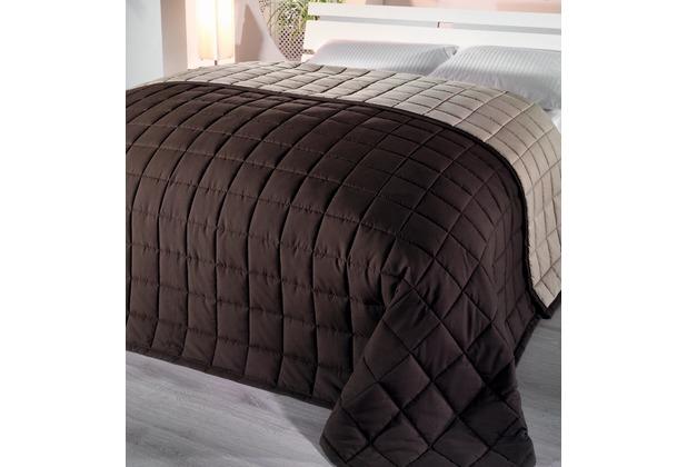 hagemann homefashion rimini berwurf braun. Black Bedroom Furniture Sets. Home Design Ideas