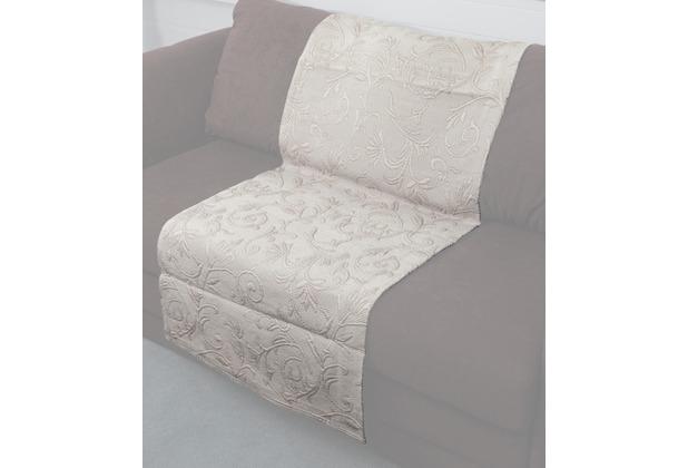 hagemann homefashion roselle sofa-/sesselläufer braun 60x200, Hause deko