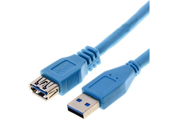helos usb 3 0 kabel stecker a kupplung a 3 0 m. Black Bedroom Furniture Sets. Home Design Ideas