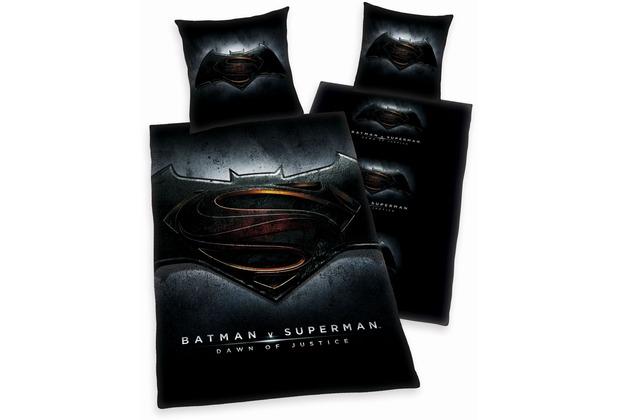 Herding Batman Vs Superman Bettwäsche Microfaser 80x80 135x200 Cm