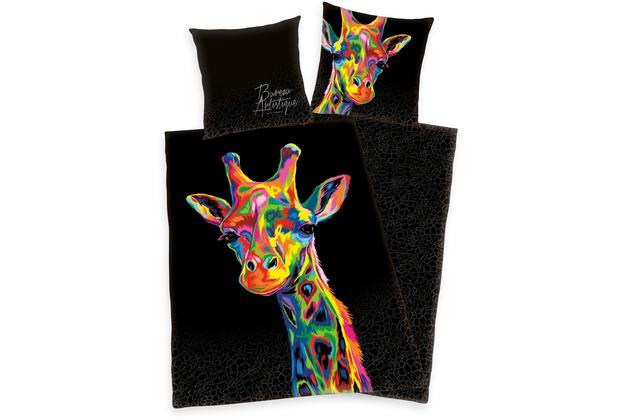 Herding Bureau Artistique Giraffe Satin Bettwäsche 135x200 Cm