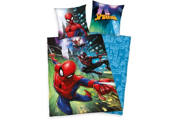 Herding Spiderman Renforcé Bettwäsche 135x200 Cm Hertiede