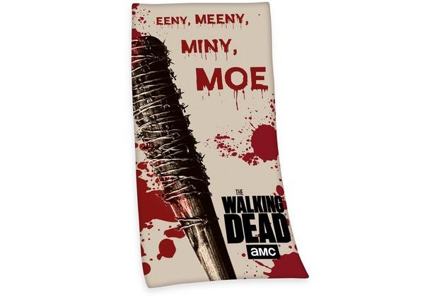 Herding The Walking Dead Velourstuch 75x150 Cm Hertiede