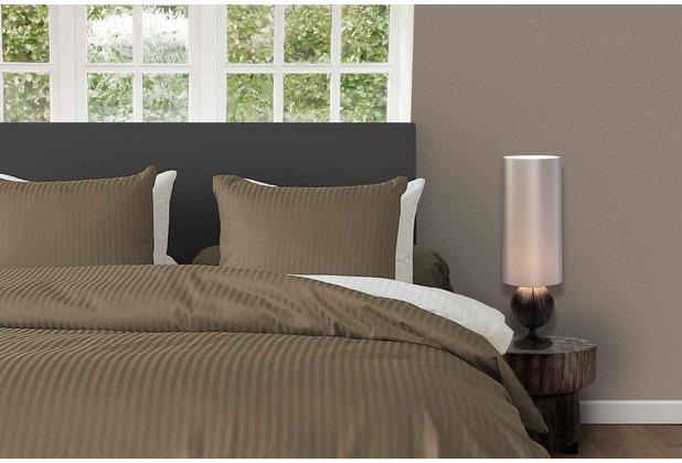 hnl satin streifen bettw sche gold mako satin gold. Black Bedroom Furniture Sets. Home Design Ideas