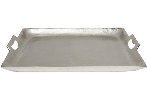Tablett Groß holländer tablett domestica gross aluminium silber rand poliert