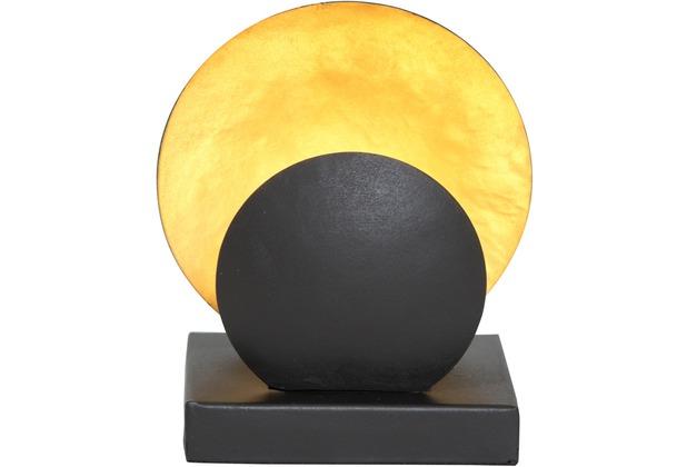 holl nder windlicht voltare klein metall schwarz gold. Black Bedroom Furniture Sets. Home Design Ideas