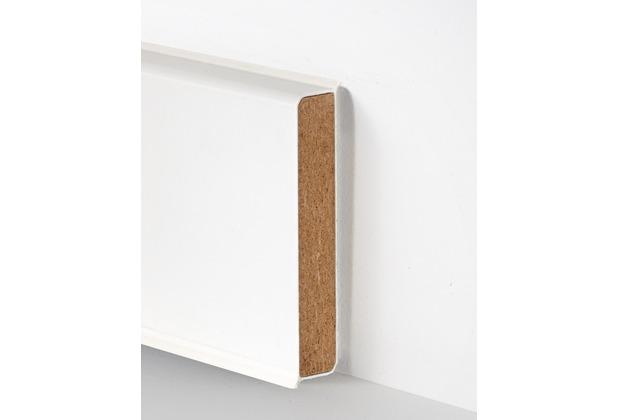 hometrend cubu flex xl 60x19 mm sockelleiste 2 50m weiss. Black Bedroom Furniture Sets. Home Design Ideas