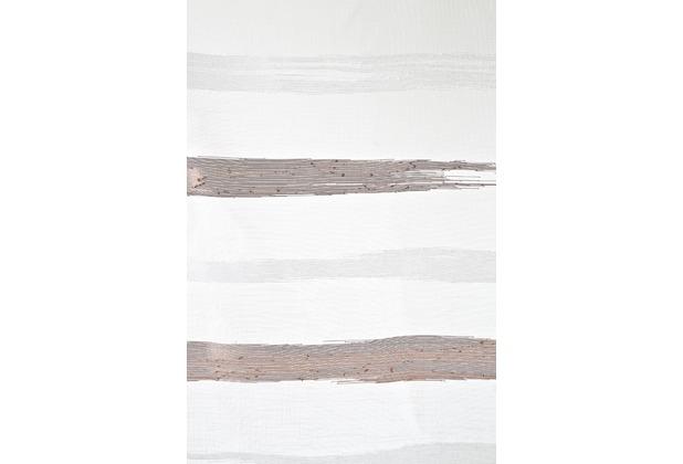 homing transparenter schlaufenschal wei braun 255 x 140 cm. Black Bedroom Furniture Sets. Home Design Ideas