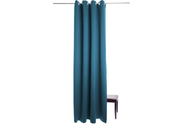 homing vorhang denton petrol 140 x 245 cm. Black Bedroom Furniture Sets. Home Design Ideas