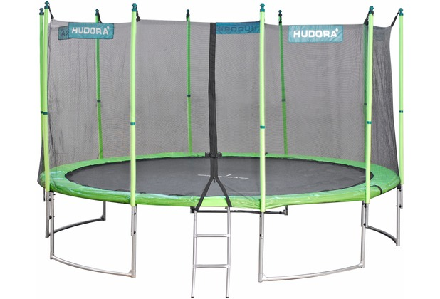 hudora family trampolin 400. Black Bedroom Furniture Sets. Home Design Ideas