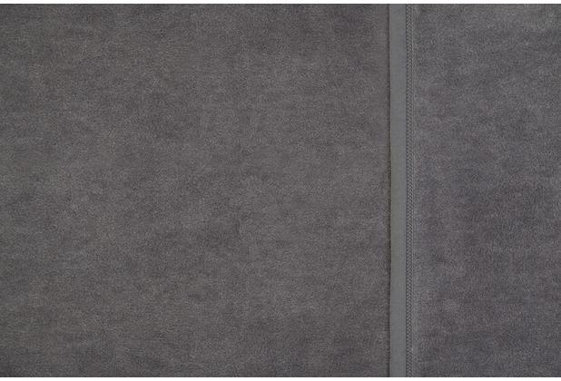 ibena uni decke berlin grau 150 x 200 cm. Black Bedroom Furniture Sets. Home Design Ideas