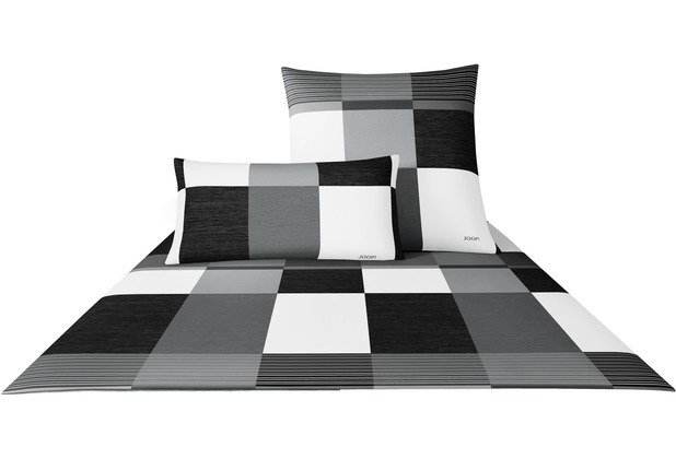 joop bettw sche lines schwarz wei. Black Bedroom Furniture Sets. Home Design Ideas