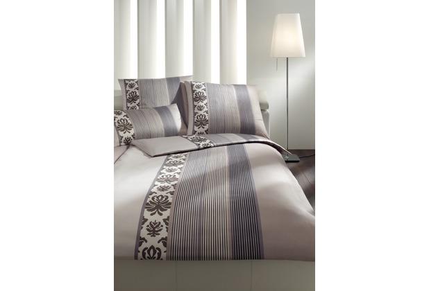 joop mako satin bettw sche ornament stripe graphit. Black Bedroom Furniture Sets. Home Design Ideas