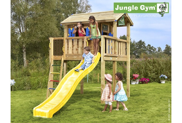 Klettergerüst Jungle : Jungle gym spielhaus playhouse xl mit langer wavy star