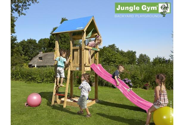 Klettergerüst Jungle : Spielturm jungle chalet