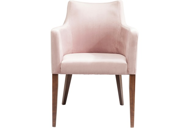 Kare design armlehnstuhl mode velvet rose for Designer armlehnstuhl