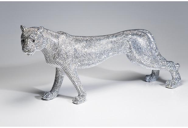 Kare design deko figur leopard glitter 29cm Kare gutschein