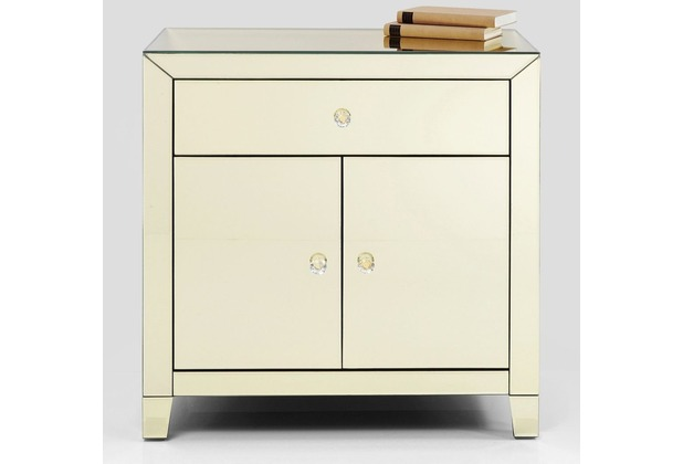 Kare Design Kommode Luxury Gold 2 Turig 1 Schub Hertie De