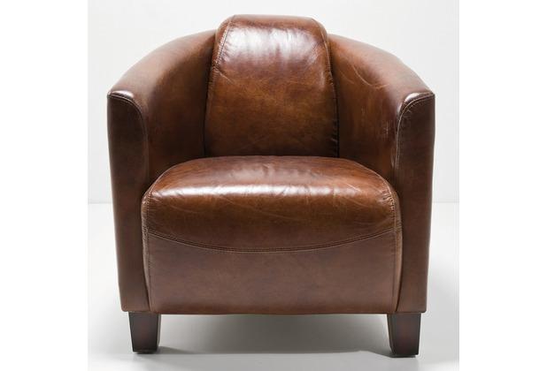 Kare Design Sessel Cigar Lounge Brown Hertie De