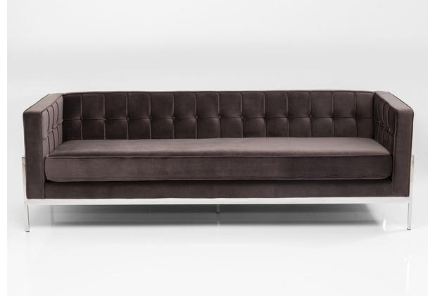 Kare Design Sofa Loft Grau 3 Sitzer Hertiede