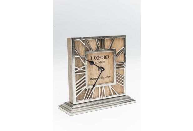 Design Tischuhr kare design tischuhr oxford wood hertie de