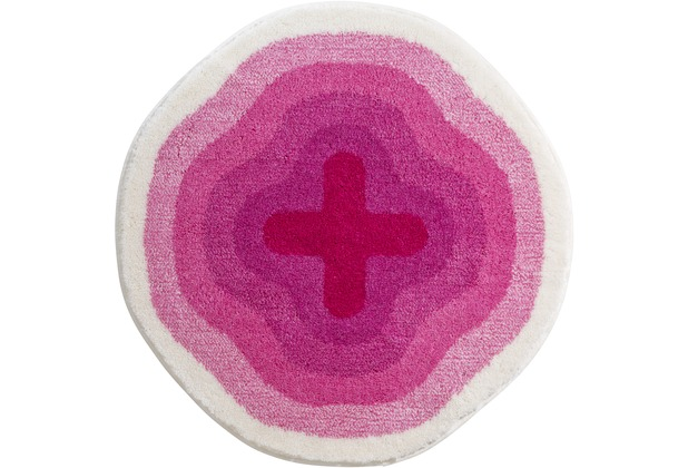 GRUND , Badteppich, KARIM RASHID Concept 03 196 pink  Hertiede
