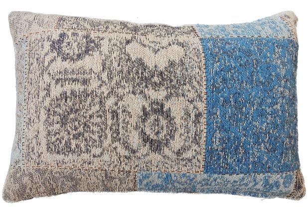 Kayoom Sofakissen Symphony Pillow 160 Blau Hertiede