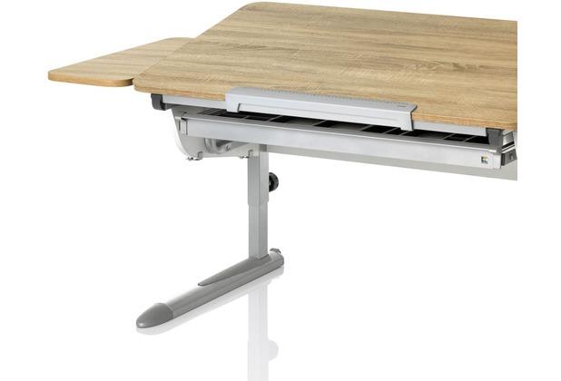 Kettler Schreibtisch Zubehör Seitenplatte Eiche Sonomasilber