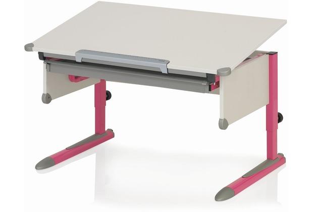 kettler schreibtisch college box ii wei pink. Black Bedroom Furniture Sets. Home Design Ideas