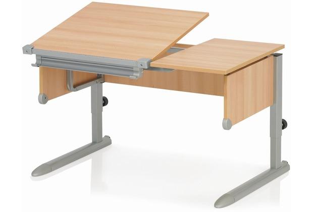 Kettler Schreibtisch Comfort Ii Buchesilber Hertiede