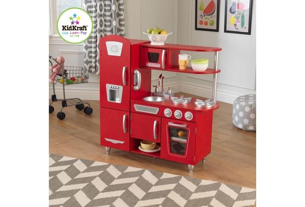 Kidkraft Rote Retro-Kinderküche | Hertie.de