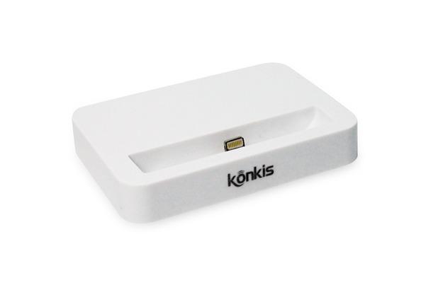 Konkis Dockingstation für iPhone 5/5S/SE, weiß | Hertie.de