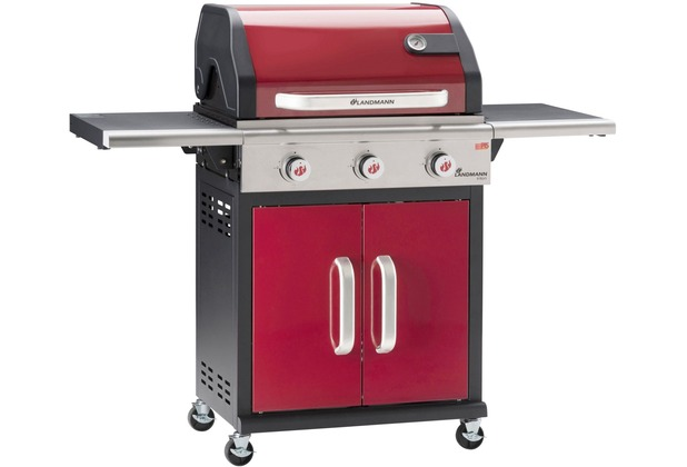 Landmann Holzkohlegrill Collection Nummer 1 : Landmann triton pts 3.0 bordeaux hertie.de