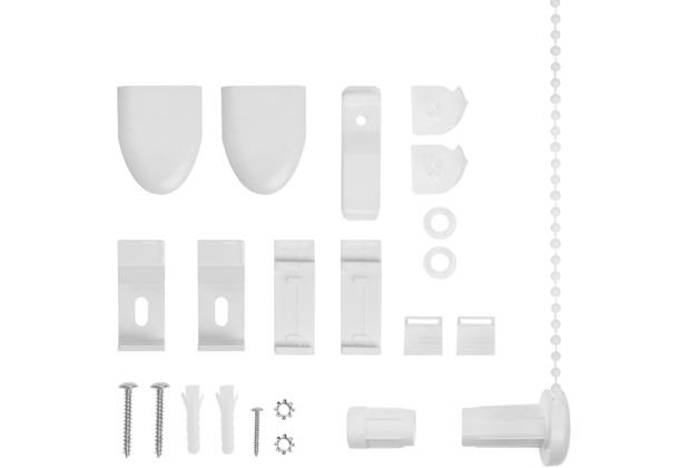 lichtblick klemmtr ger und zubeh r montage set f r klemmfix duo rollo kdr wei. Black Bedroom Furniture Sets. Home Design Ideas