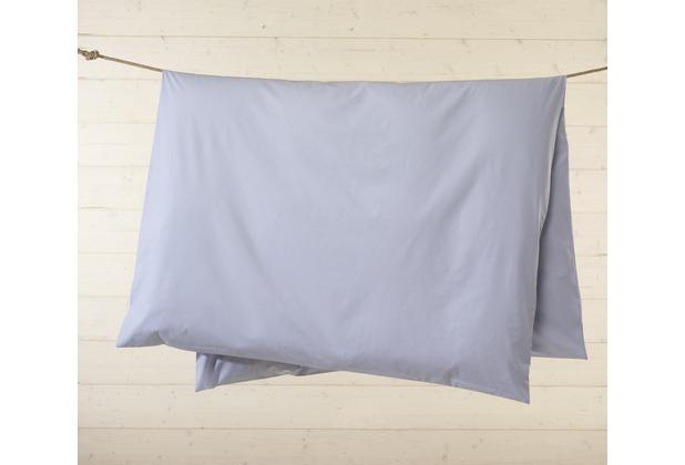 livingston batist bettw sche garnitur blau wei gestreift. Black Bedroom Furniture Sets. Home Design Ideas