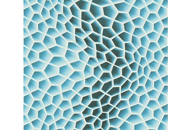 Tapete blau beautiful vliestapete kachel fliese tapete for Tapete ornamente blau