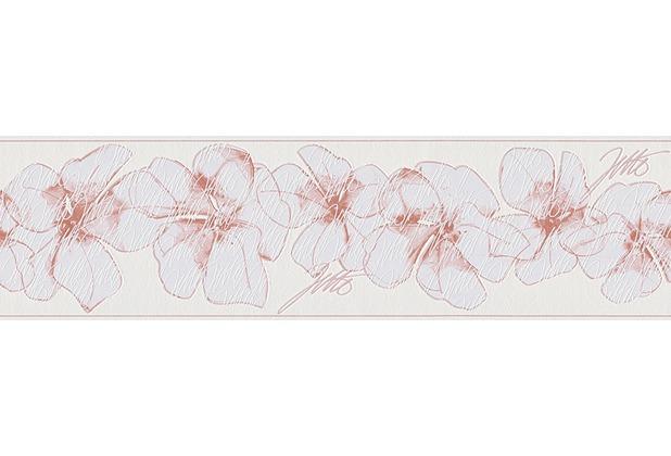 livingwalls jette bord re rosa wei. Black Bedroom Furniture Sets. Home Design Ideas